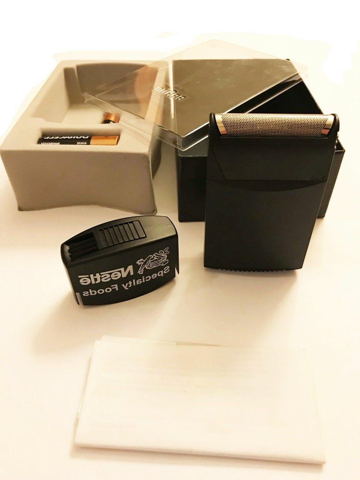 Braun Portable Shaver New New Vtg