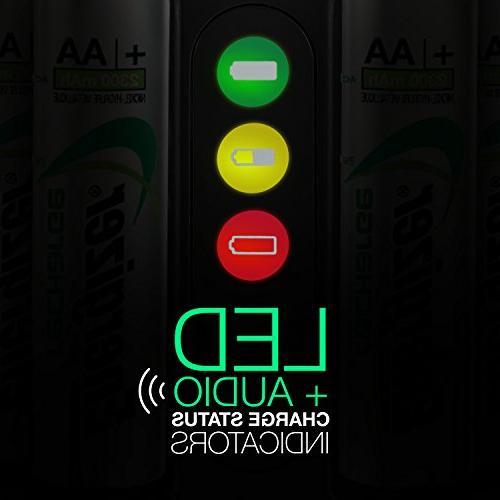 Energizer Rechargeable AA AAA Battery 4 NiMH