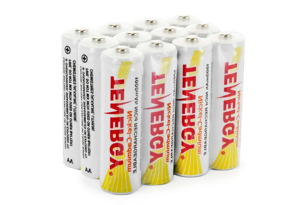 NiCd Rechargeable Batteries for Solar/Garden Lights