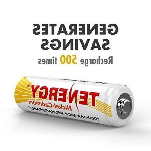 Tenergy Capacity Rechargeable Battery for Light