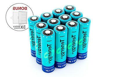 Combo: pcs AA NiMH Rechargeable Batteries