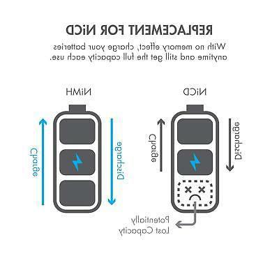Tenergy 1.2V 1000mAh Batteries + Cases