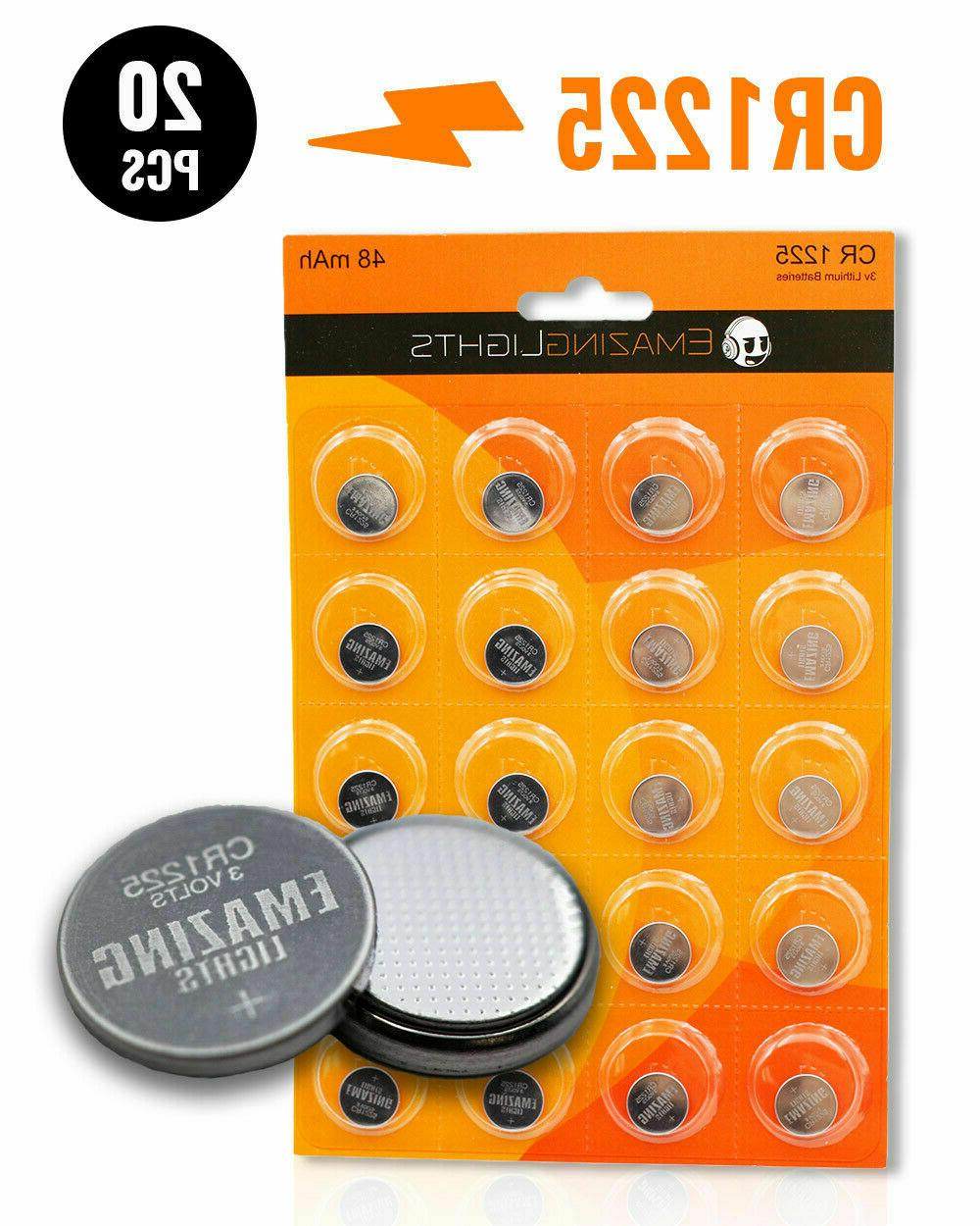 cr1225 batteries 3v button cell lithium battery