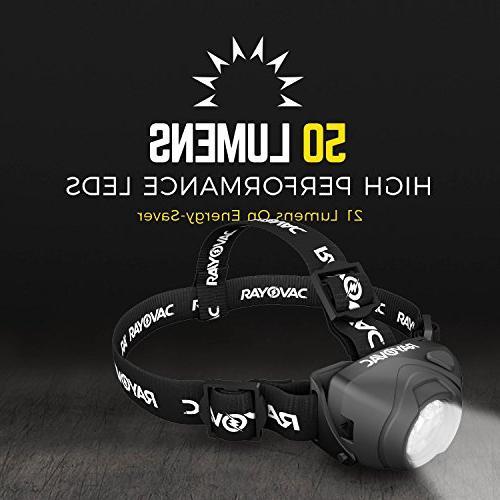 Lumen Headlight with Batteries, DIYHL3AAA-BTA
