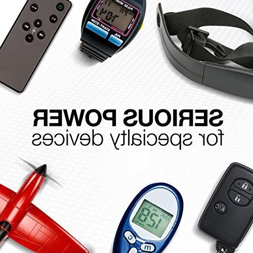 Energizer ECR2025BP Electronic 3V Batteries, Black/Red