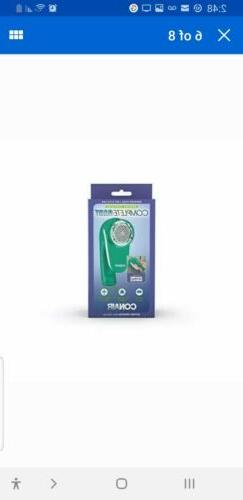 Conair Fabric Defuzzer - Shaver, Battery Operated, Green. Bo
