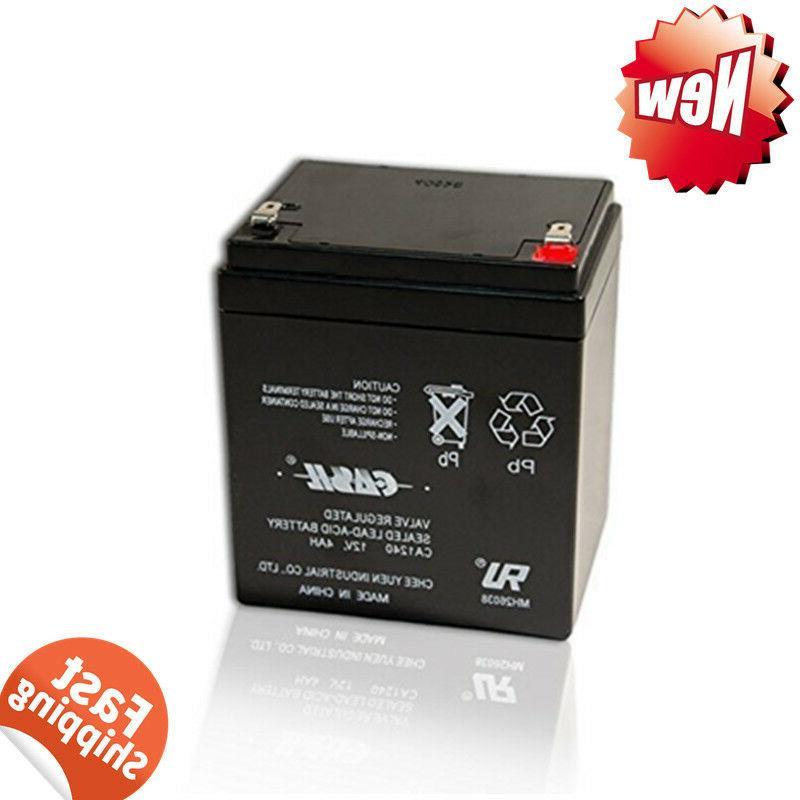 genuine ca1240 12v 4ah sla alarm battery