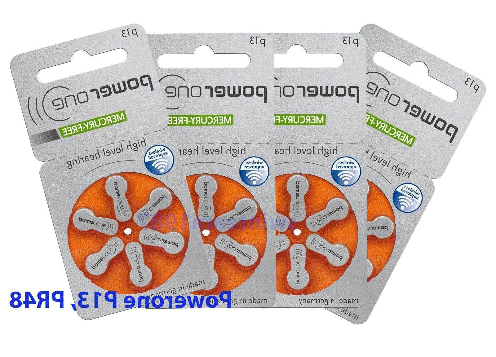 genuine hearing aid batteries pr48