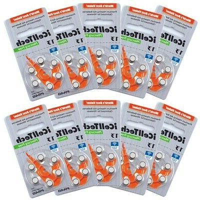 iCell Tech Size 13 Hearing Aid Batteries *Platinum*