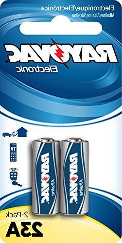 RAYOVAC KE23A-2ZMA Alkaline Keyless Entry Batteries, 2 Pack