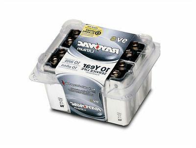 Rayovac 9 Battery, 10 Year Life, Pack