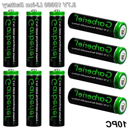10PCS Lithium Rechargeable Charger for Flashlight