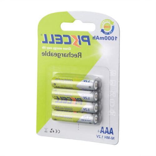 Lot PKCELL Ni-MH Batteries Camera ~