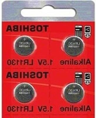 LR1130 AG10 189 1130 LR54 Pack Of 4 Toshiba Button Cell Batt