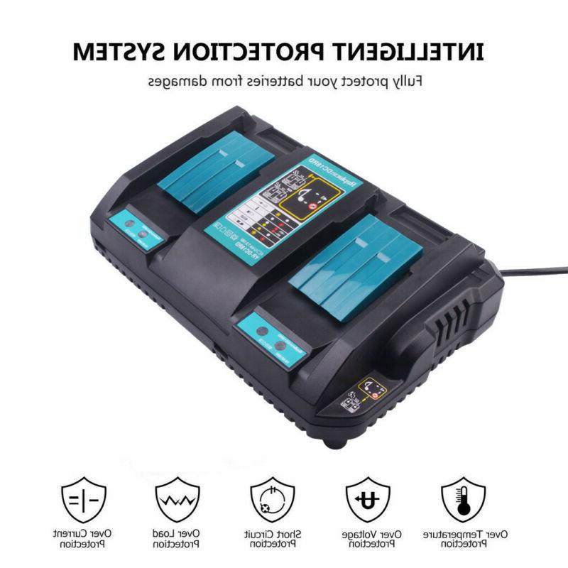 14.4-18V Rapid Battery Charger USB for