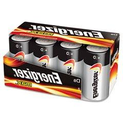 * MAX Alkaline Batteries, D, 8 Batteries/Pack