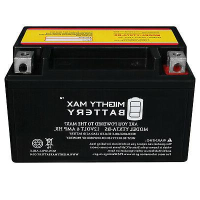 Mighty YTX7A-BS Battery for Moped