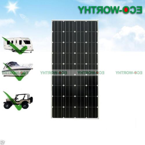 100W 12V Mono Panel Solar Outdoor