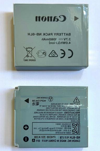 Canon Rechargeable Li-Ion Battery for PowerShot