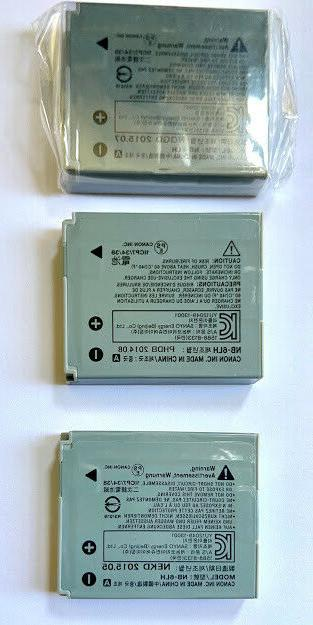 Canon Rechargeable Li-Ion Battery for select PowerShot