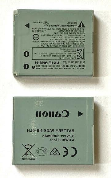 Canon Battery for PowerShot cameras