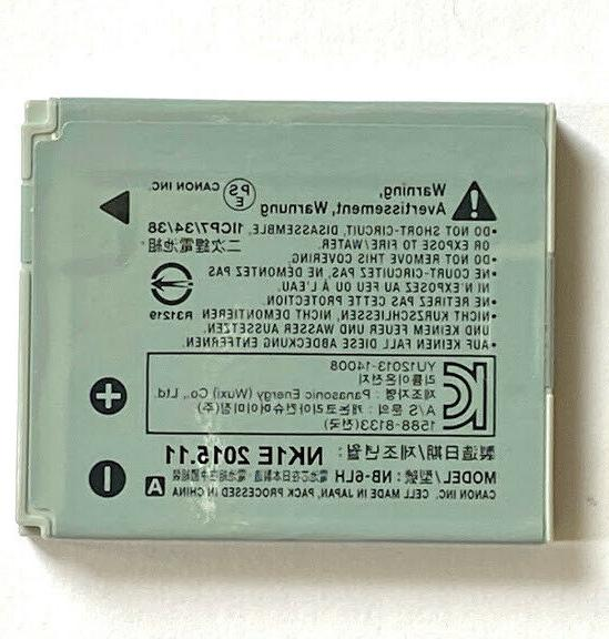 Canon NB-6LH Li-Ion Battery for PowerShot cameras