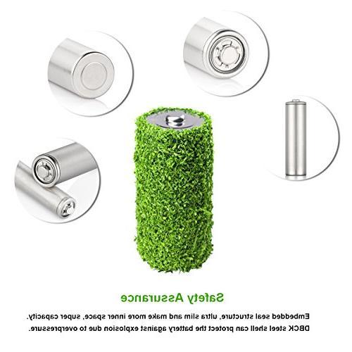 EBL 8 Pack Batteries AA Battery Case