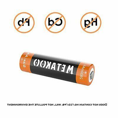 Openbox Metakoo Aa Rechargeable Batteries 8 2800mah