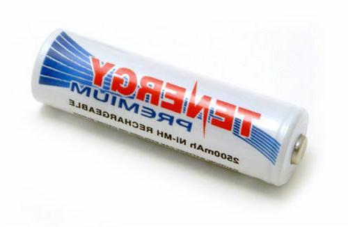 Tenergy Premium AA 2500mAh High Batteries Cell