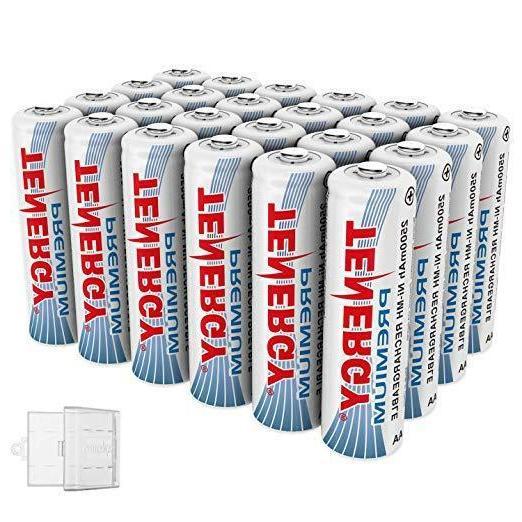 premium aa 2500mah high capacity nimh rechargeable