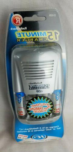 Radio Shack IC3 Minute Battery Charger 2 I-C3 Batteries