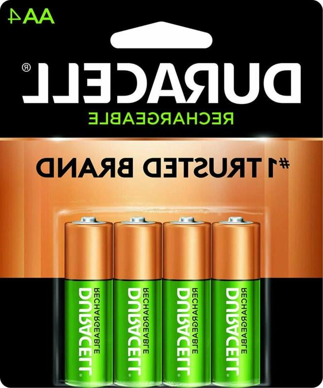 Duracell - Rechargeable Aa Batteries - Long Lasting, All-Pur