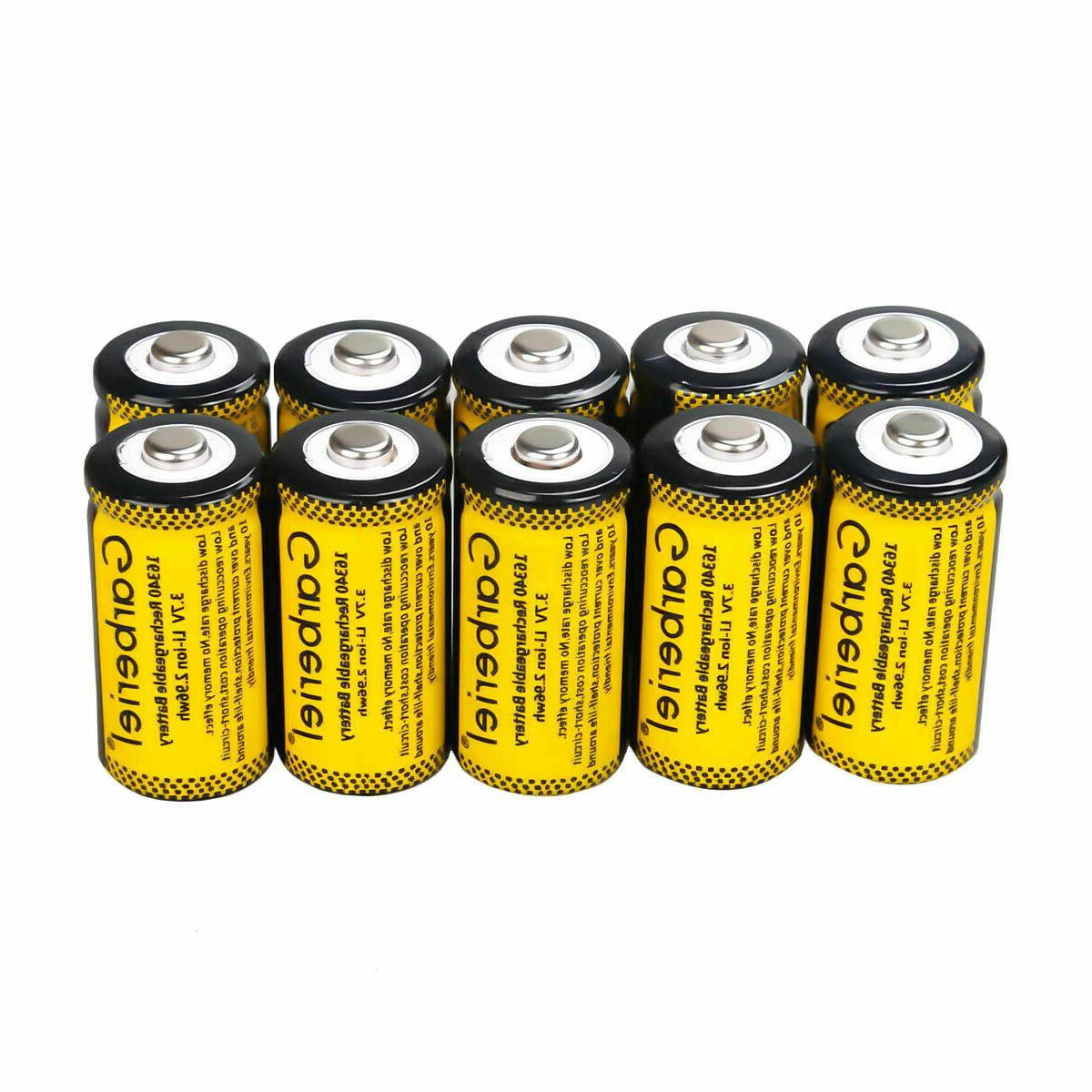 Rechargeable CR123A Batteries Li-Ion for Netgear Security Camera lot