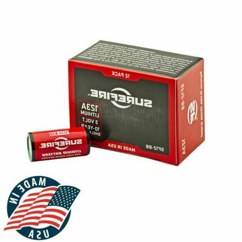 sf12 bb 12 pack cr123a lithium batteries
