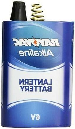 Rayovac Lantern Battery, 6 Volt Alkaline Spring D Cell, 806