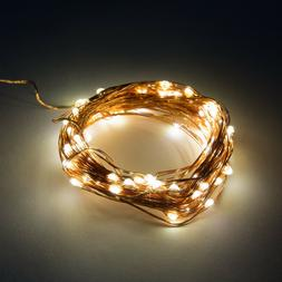 LED Fairy Lights- 6 Foot Battery Operated Waterproof with 20