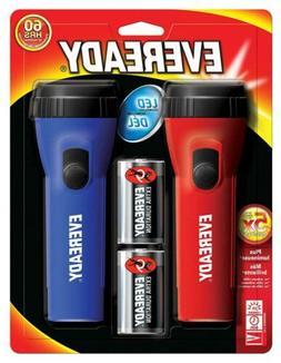 Eveready LED Flashlight Multi-Pack, High Lumens, Batteries I