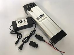 Li-ion 48V 12AH Battery Aluminum Case BMS 3A Charger Recharg