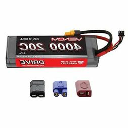 Venom LiPo Battery : Traxxas Stampede 1:10 20C 7.4V 4000mAh
