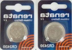 Renata #CR2430 Lithium Coin Battery