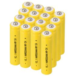 Lot 3A 1.2V Ni-MH 600mAh AAA Rechargeable Battery For Solar