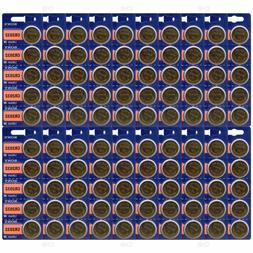 Lot OF 100  Fresh SONY CR2032 DL2032 ECR2032 CMOS Lithium 3V
