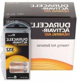 Duracell Hearing Aid Batteries Size 312 - Fast shipping- Fre