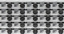 Lot of 25 Genuine Energizer ECR2032 2032 Lithium 3V Batterie