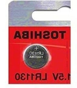 LR1130 AG10 189 1130 LR54  1 Toshiba Button Cell Battery USA