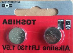 Toshiba LR1130 AG10 189 1130 LR54 Battery USA SELLER FREE SH