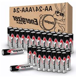 Energizer MAX AA Batteries & AAA Batteries Combo Pack 24 AA