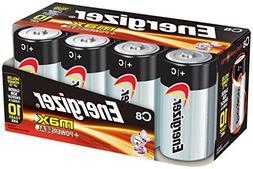 Energizer Max E93fp-8 C Alkaline Batteries 8 Pack