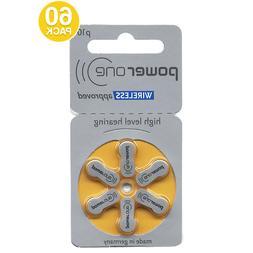 Power One Size 10 p10 PR70 Mercury Free 1.45V Hearing Aid Ba
