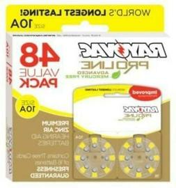 Rayovac Mercury Free Proline Advanced Size 10 Hearing Aid Ba